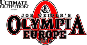 2016 OLYMPIA EUROPE LOGO ULTIMATE SIDE